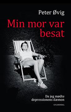 Min mor var besat - omslag - Peter Øvig Knudsen