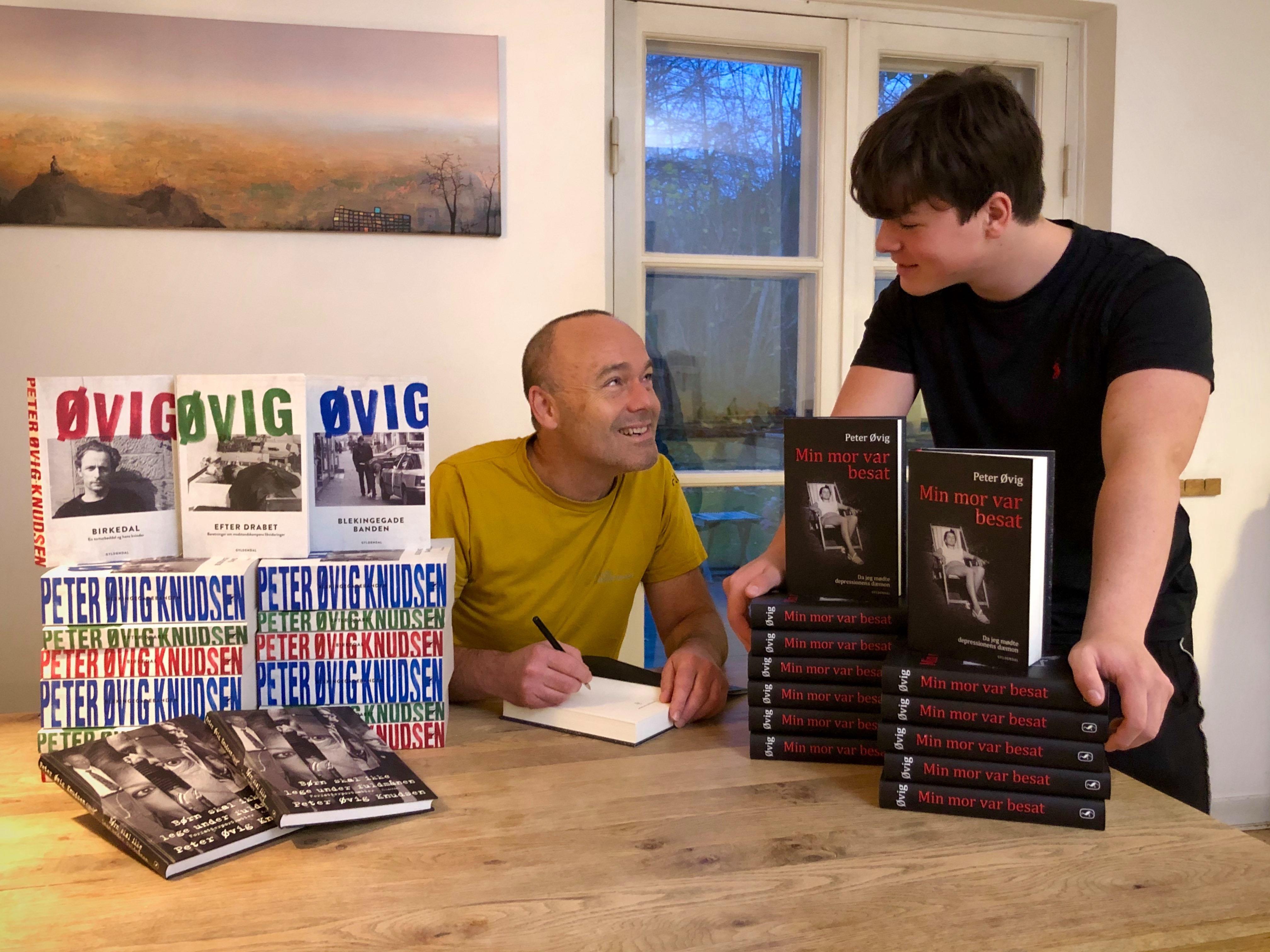 Køb Peter Øvigs bøger signerede